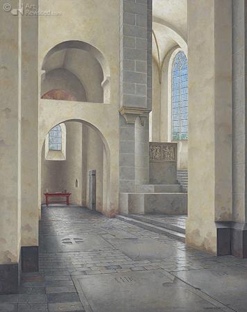 Interieur Pieterskerk Utrecht