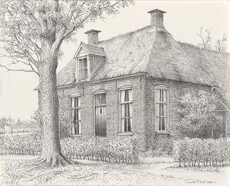 Voorhuis in Giethoorn