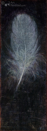 Feathers appear when the angels are near