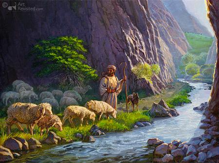 Door het dal - Psalm 23