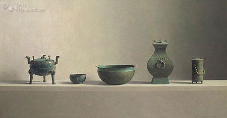 Chinese bronzen voorwerpen (±1030 voor Chr. Tot 220 na Chr.)