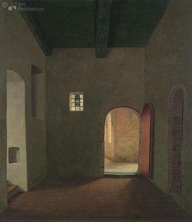 Interieur van het klooster in Ter Apel