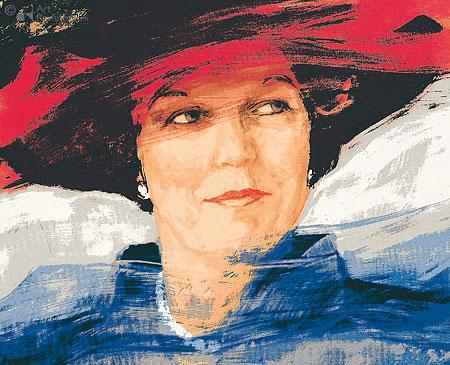 Koningin Beatrix, officieel portret