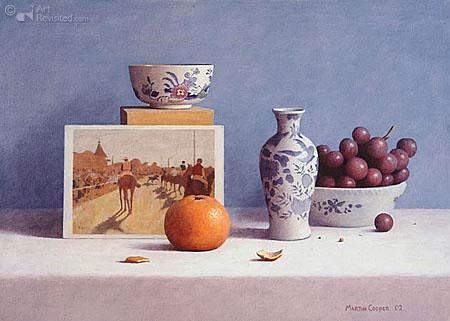 fruit kom vaas kaart sinaasappel