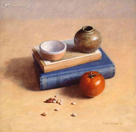 boek kaart kom pot tomaat zaad