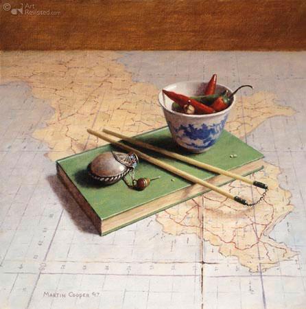 kaart boek peper