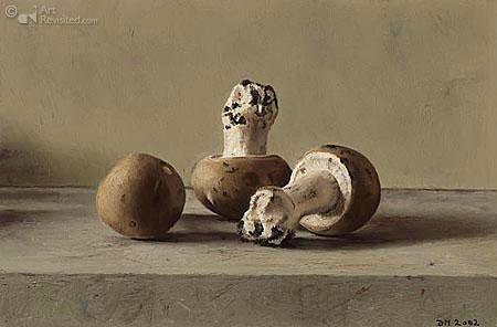 3 stk. champignon