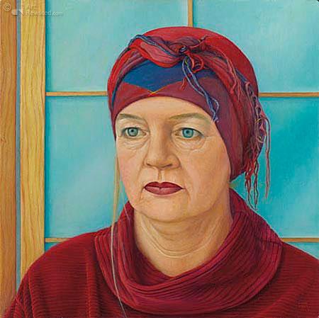 De Vrijheid gaat in het rood gekleed, hommage aan Theun de Vries