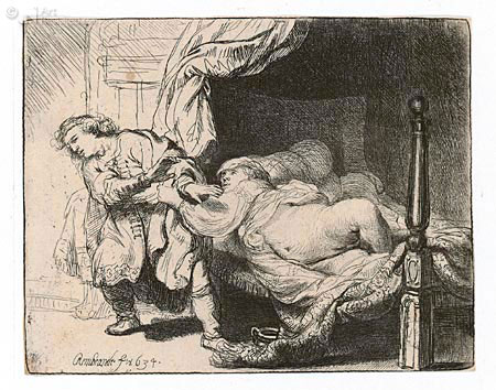 Jozef en Potiphar's vrouw