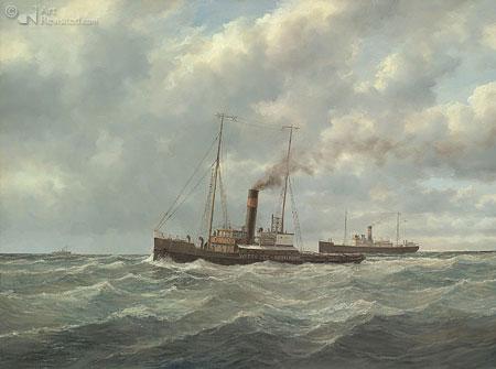 Sleepboot Wittee-Rotterdam