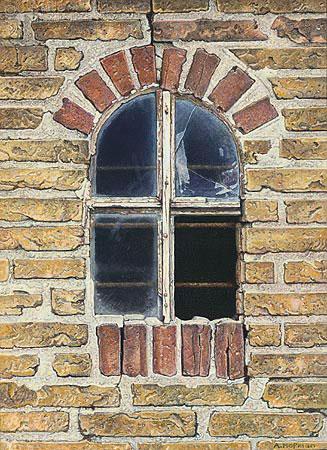 Gebroken raam