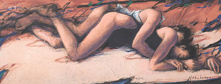Löffel lang  (terracotta)
