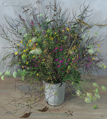 Wildflower bouquet, All Souls' day